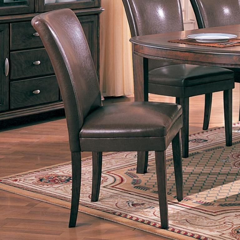 Brown Parsons Chair - Parson Dining Chair - Discount Parsons Chair - LaPorta Furniture - Discount Online Furniture Store