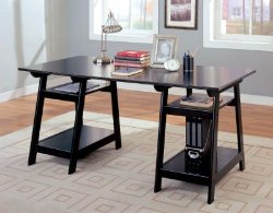Trestle Desk - Coaster Desks - Trestle Tables - Discount Home Desks - Affordable Home Desks - Online Discount Furniture