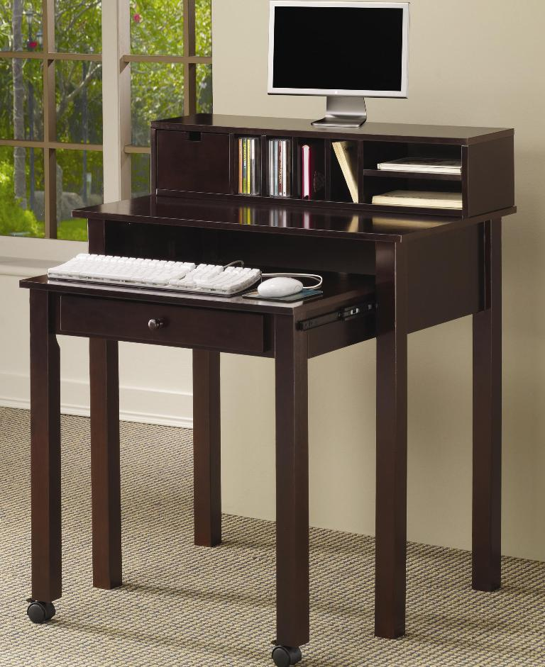 Coaster Computer Desk - Coaster Home Furniture - Coaster Furniture Sale- LaPorta Furniture - Online Discount Furniture Store