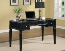 Affordable Computer Desks - Black Modern Desk - Home Office Furniture - LaPorta Furniture - Online Discount Furniture Store