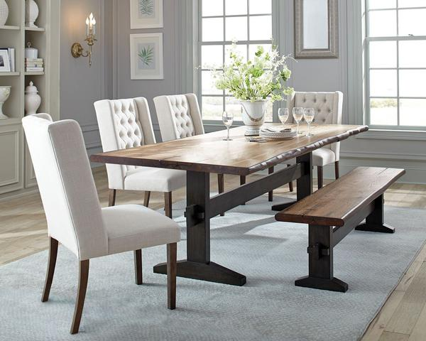 Brilliant Coaster Burnham Dining Room Set Farmhouse Style By Scott Living Home Interior And Landscaping Ologienasavecom