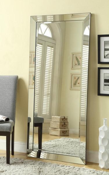 Full Length Silver Floor Mirror