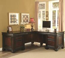 L-Shaped Desks - L Shaped Computer Desks - Home Office L Shaped Desks - LaPorta Furniture- Online Discount Furniture