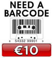 CD Duplication Ireland Barcode �10
