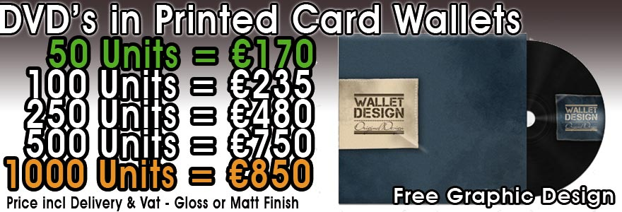 DVD in Card Wallet Prices