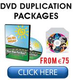 DVD Duplication Ireland Packages Click Here