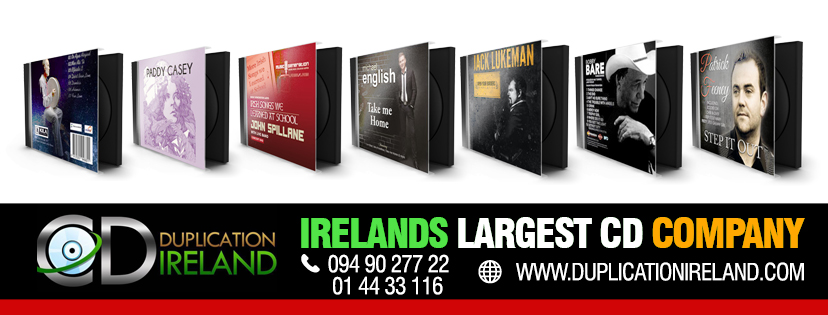 CD Duplication Ireland Clients Galway Offaly Leitrim Mayo Cork Dublin Athlone Kilkenny Limerick Clare Kerry