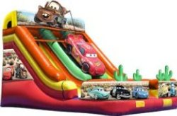 Cars Movie Double Lane Slide