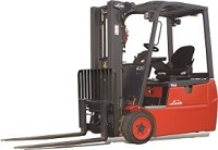 Linde 346 3-Wheel Electric Forklift