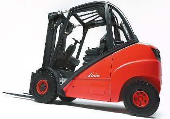 New Linde Forklift Picture