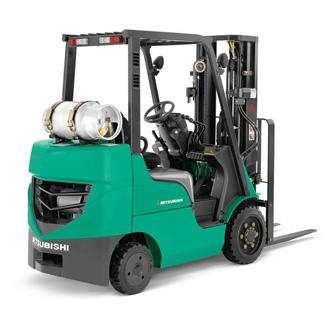 New Mitsubishi Forklift Picture