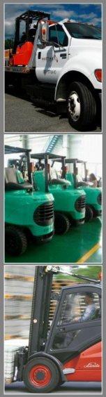 Forklift Rentals Montage Picture