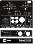 Lincoln Welder Control Plates & Decals, Miller Welders