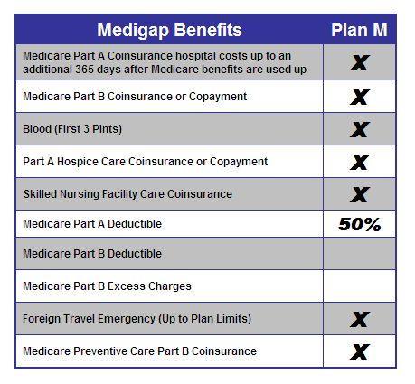 Medigap Plan M