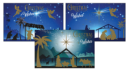 Christmas Wishes Cards.