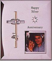 Photo Frame 25th Wedding Anniversary.