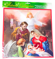 Nativity Advent Calendar .
