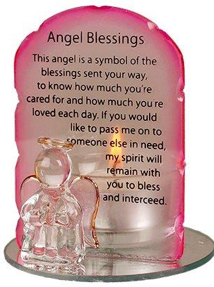 Angel Candleholder -  Angel Blessings.