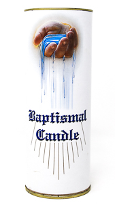 Baby Baptismal Candle.
