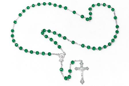 Birthstone Rosary Beads - May