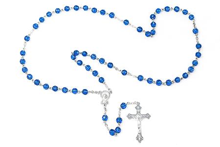 Birthstone Rosary Beads - November.