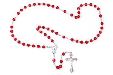 Birthstone Rosary Beads - July