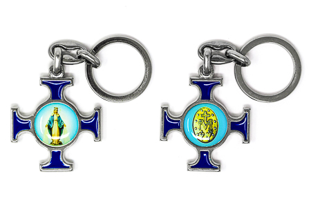 Miraculous Cross Key Chain.