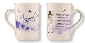 Angels  - Bone China Mug / Cup.