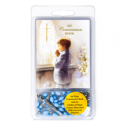 Boy's First Communion Rosary.