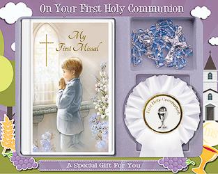 Communion Rosette & Gift Set
