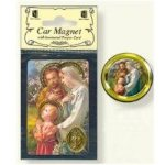 Holy Family Car Magnet