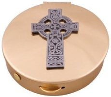 Celtic Cross Pyx.