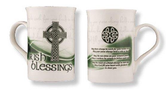 Irish Blessing - Bone China Mug / Cup.