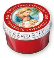 Cinnamon Scented Candle.
