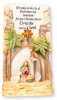 City of David Nativity Plaque.