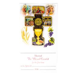 Girl's Communion Certificate.