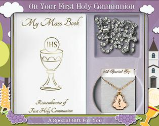 First Holy Communion Gift Set..