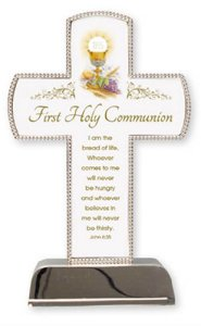 Communion Cross - Silver Plated.