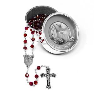 Confirmation Photo Rosary Box.