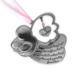 Guardian Angel Crib Medal.
