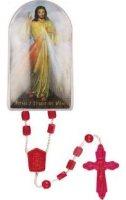 Divine Mercy Plastic Rosary.