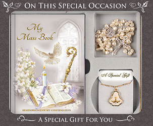 Souvenir of Confirmation Gift Set With Book