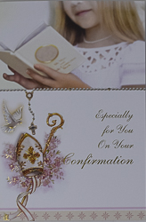 Confirmation Card for a Daughter.