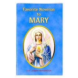 Novena Book To Mary.