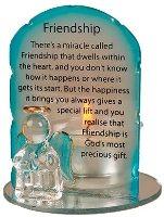 Angel Candleholder - Friendship.