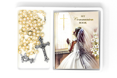 Girl's First Communion Rosary.