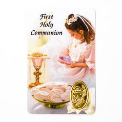 Communion Prayer Card.