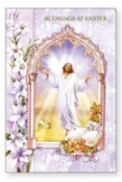 God bless you at Easter Card.