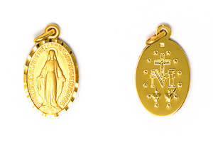 French Our Lady of Grace Medal.