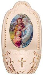 Holy Family Porcelain Font.